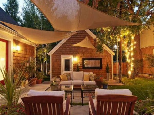 Remodelaholic | Home Sweet Home on a Budget: Porch and ... on Outdoor Patio Makeover id=94375