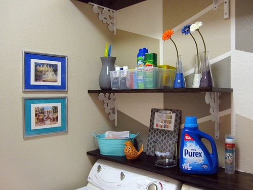 Small Laundry Room Ideas By Design Build Love Featured On Remodelaholic