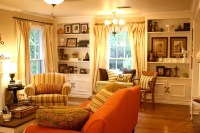 Updated Living Room From Italian To Country Cottage ...
