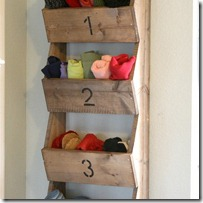 wall storage bins