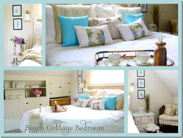 From Junk Room To Beautiful Bedroom The Big Reveal: Beach Cottage Bedroom Makeover