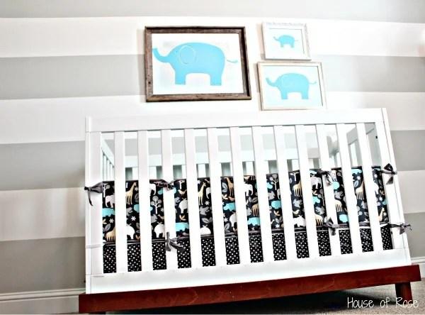 grey-and-white-elephant-theme-nursery-room