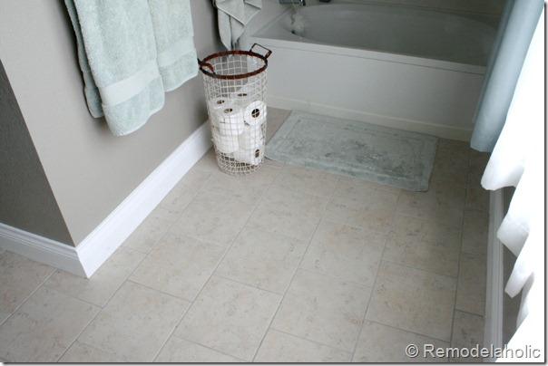 New Tile In Master Bathroom Remodelaholic (2)
