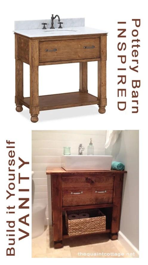 remodelaholic | diy bathroom vanity how to