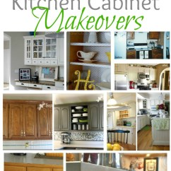 Kitchen Cabinet Makeovers Aid Pasta Attachment Remodelaholic Home Sweet On A Budget When We Purchased The House Was Desperately In Need Of Updates While Original Cabinets Had Lot