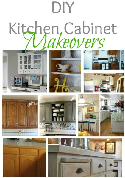 Remodelaholic Home Sweet Home On A Budget Kitchen Cabinet Makeovers