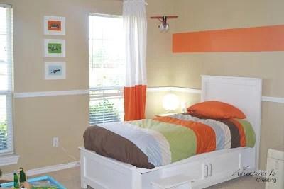 orange-accent-boys-bedroom-boy-remodelaholic.com