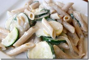 Cheesy-Pasta-with-squash-recipe