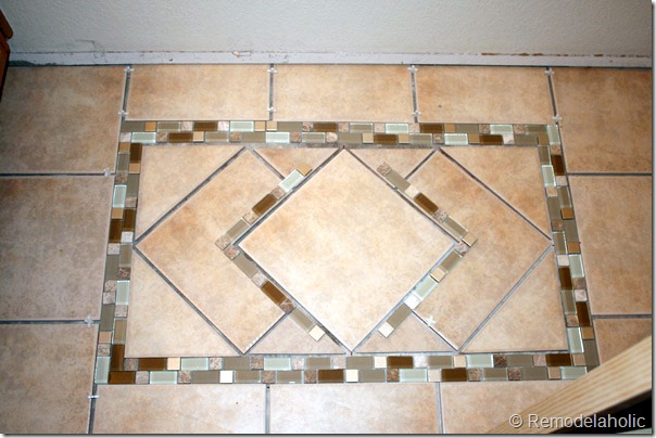 Inlaid tile rug tutorial (19)