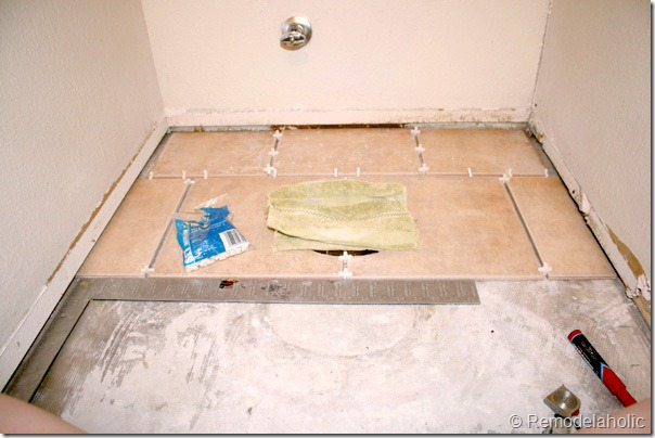 Inlaid tile rug tutorial (7)
