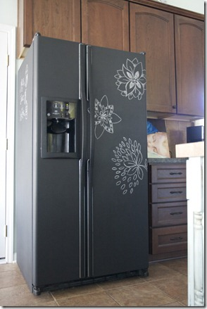 The-Handmade-Home-Chalkboard-Fridge