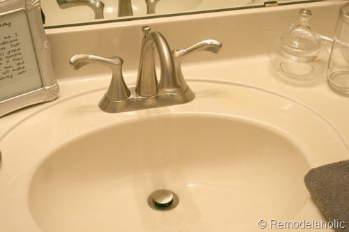 bathroom faucet install Park House