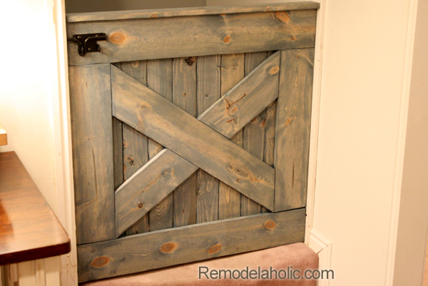Diy Wooden Barn Door Baby Gate Building Plans