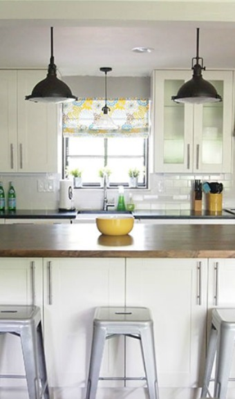 Remodelaholic | Light and Bright 1950's Ranch Kitchen Makeover