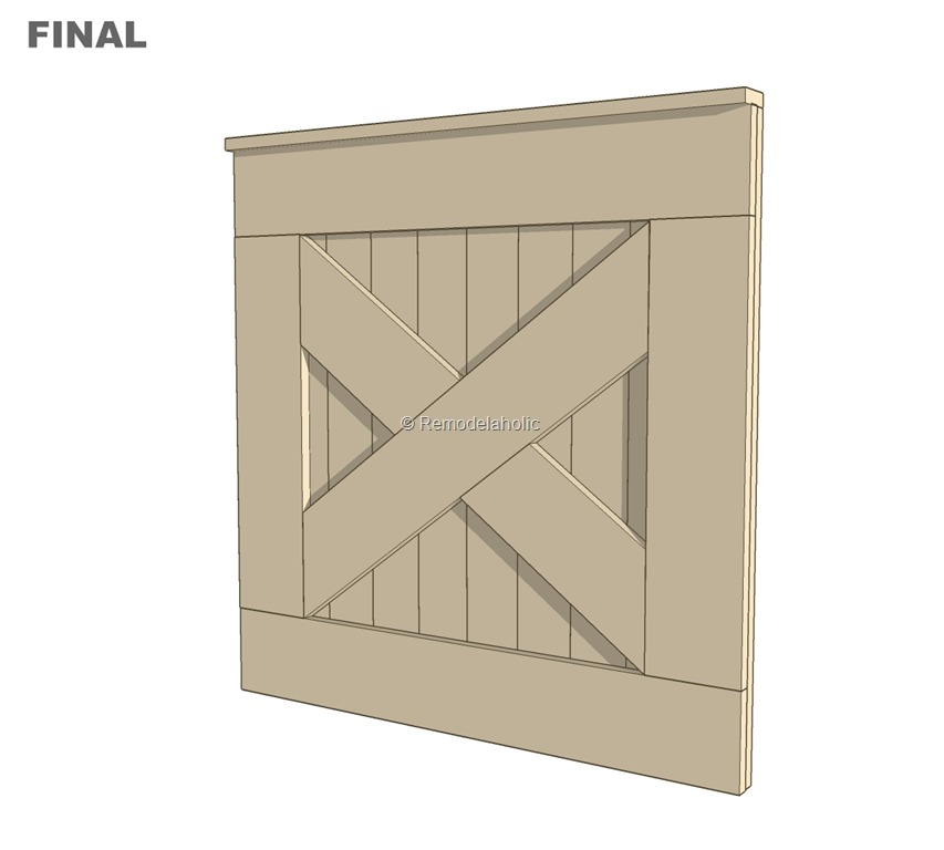 free plans diy barn door baby gate for stairs