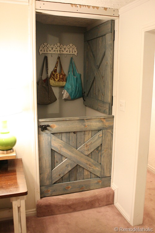 Dutch Door Installed 012