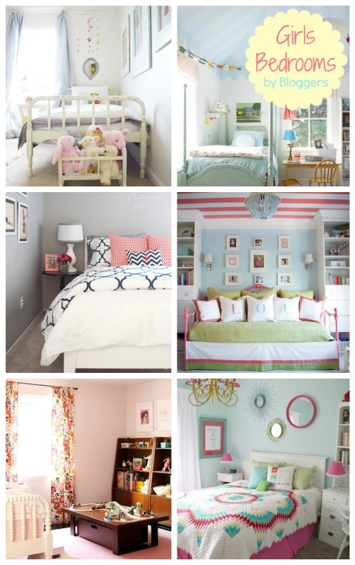 Great Girl Bedroom Ideas For Real life kids! #bedroom #design #girls