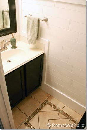 Inlaid tile rug tutorial (23)