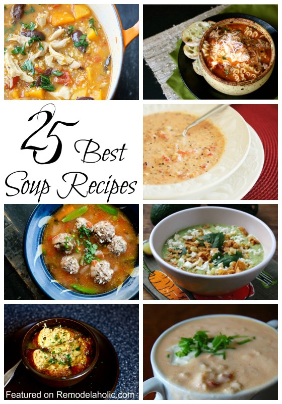 25 Best Soup Recipes