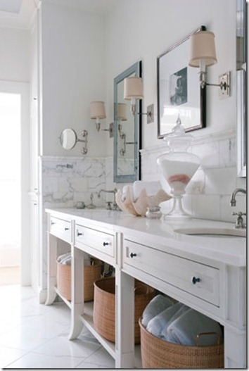 House Beautiful bathroom idea