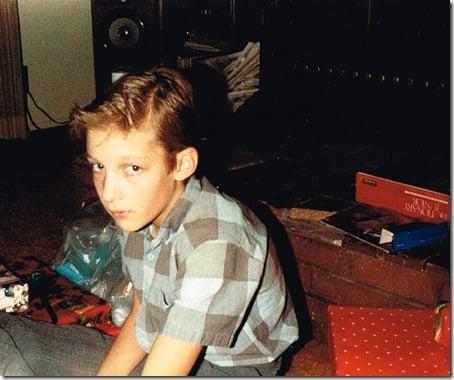 Justin Christmas 1988