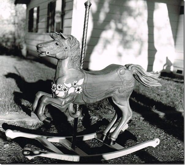 carosel rocker horse