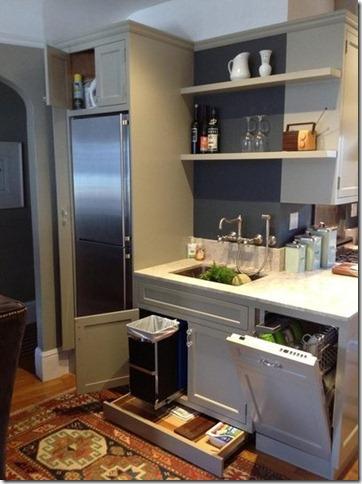 efficiatn storage for kitchens
