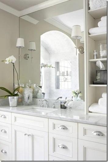 shelf on vanity top