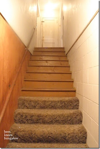 Bees Knees Stairs before