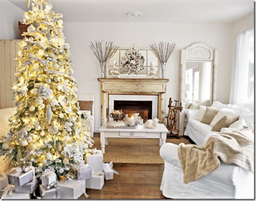 Remodelaholic  Best Colors for Your Home A Colorful Christmas