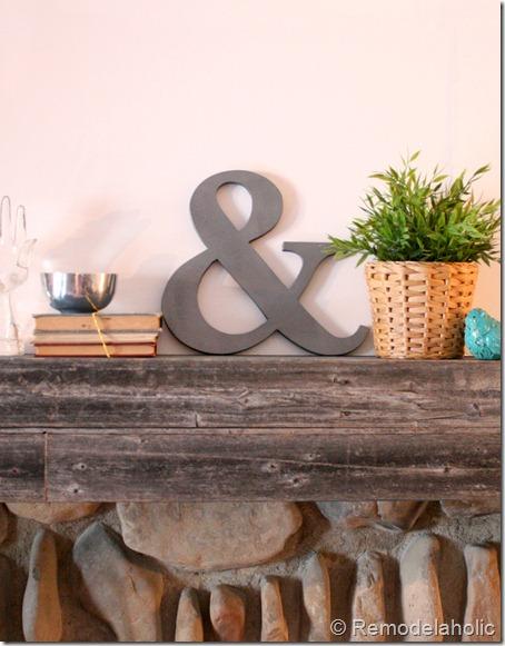 DIY Ampersand decoration2