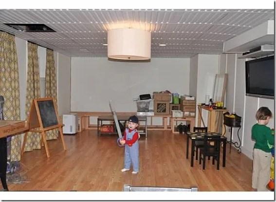 Dixie Delights basement before