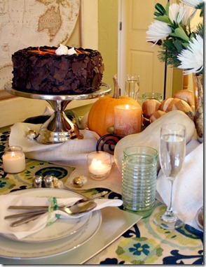 Fall Bounty tablescape Thanksgiving Table setting (7)