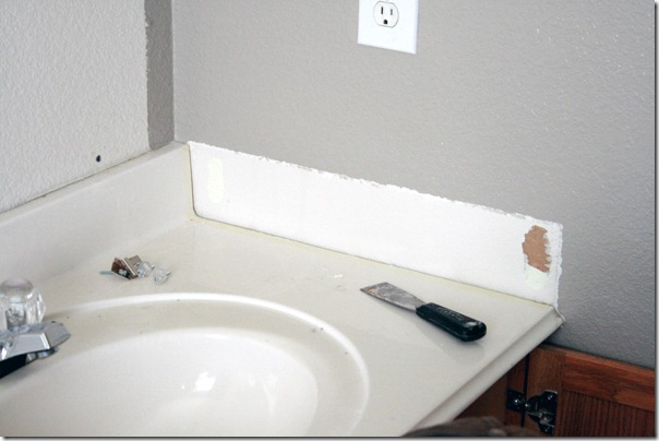 How to Add height to a short bathroom vanity (5)