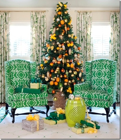 Tobi Fairley Orange tree