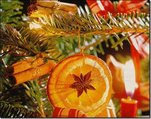 canadian country woman orange ornament