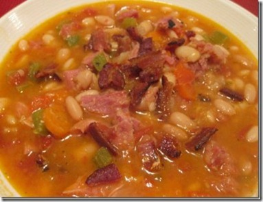 danicas daily ham and navy bean soup