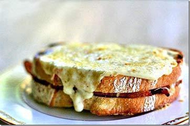 tastebook croque monsieur ham and cheese