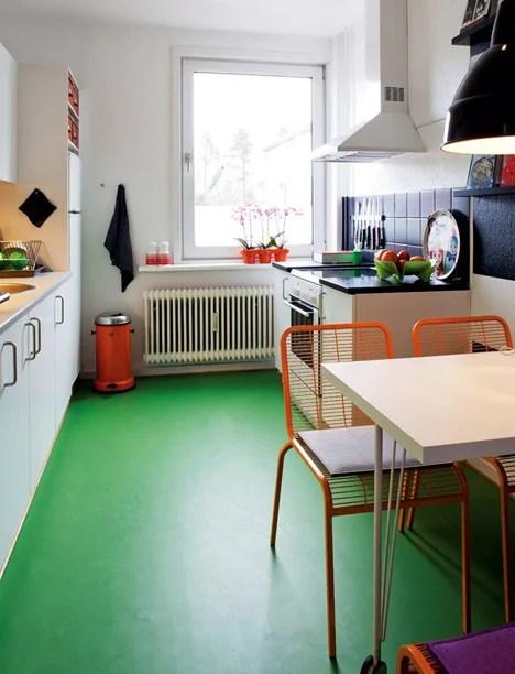 Bo Bodre green floor