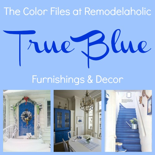 Best Paint Colors For Your Home: TRUE BLUE