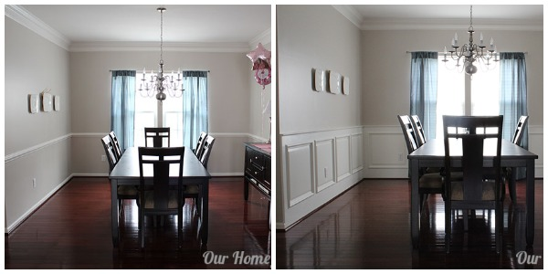 Remodelaholic  DIY Wainscoting Tutorial