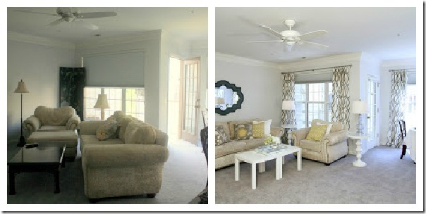 Home Blog living room staged collage