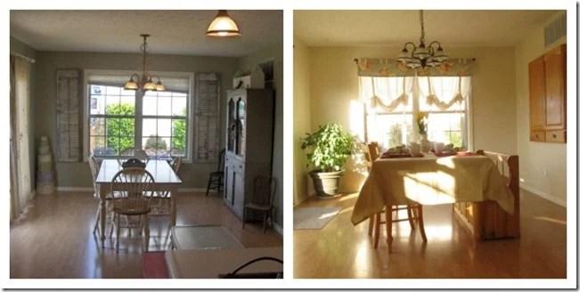 IN Dining Room transformation