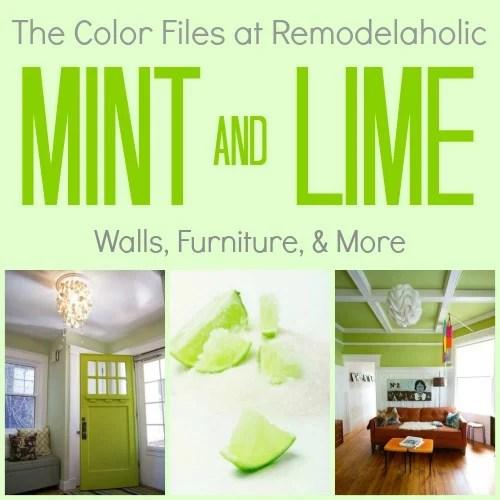 Lime & Mint Color Files Pinterest Pic
