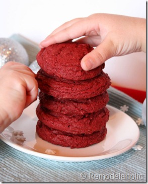 Red Velvet Cookies Recipe (5)