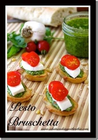 Remodelaholic Pesto Bruschetta