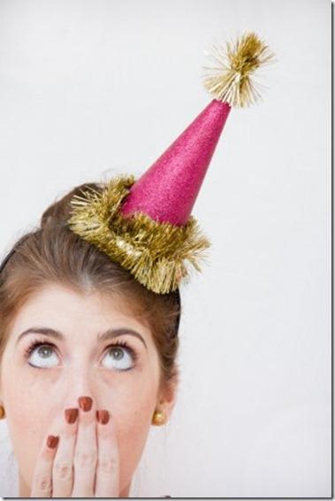 Studio DIY party hats