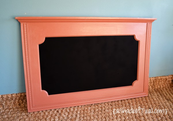 A Shade of Teal coral chalkboard