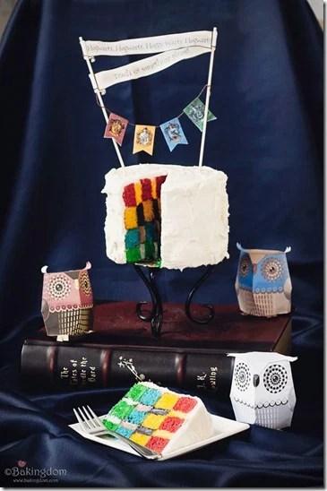 Bakingdom Hogwarts cake