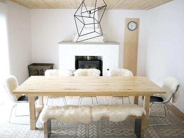 Design Happens rustic table